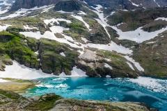 Le lac blanc, Alpe d'Huez