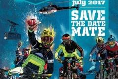 Affiche Megavalanche Alpe d'Huez 2017