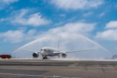 Bapteme Qatar Airways à Nice