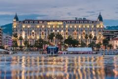 Le Carlton pendant le Festival de Cannes