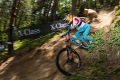 Rachel Atherton, Coupe du Monde de VTT, Vallnord 2018